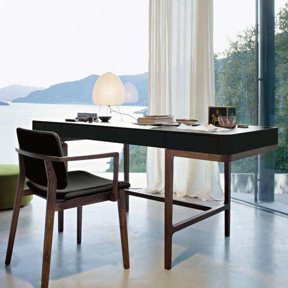 bàn làm việc gỗ tự nhiên hiện đại 3