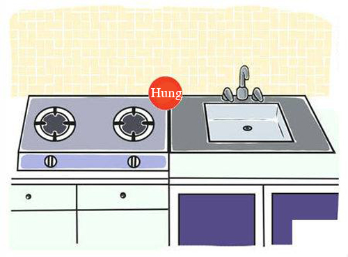cách đặt bếp trong nhà 3