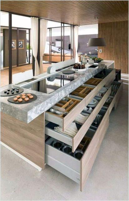 đảo bếp thông minh 3
