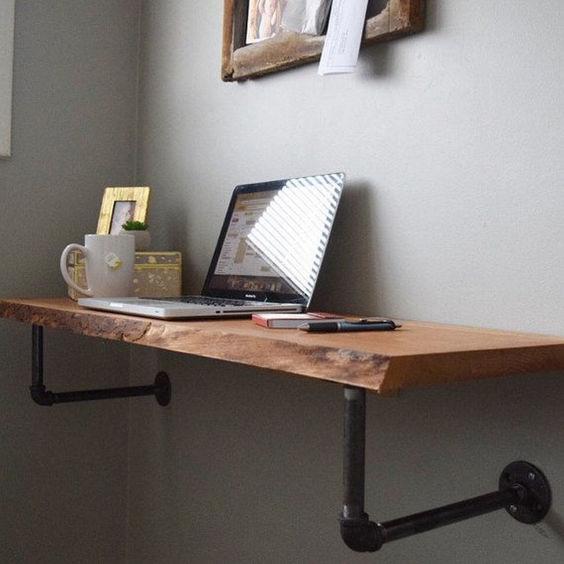 mẫu bàn làm việc bẳng gỗ tự nhiên 4