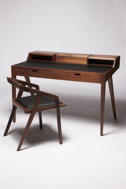 mẫu bàn làm việc bẳng gỗ tự nhiên 7