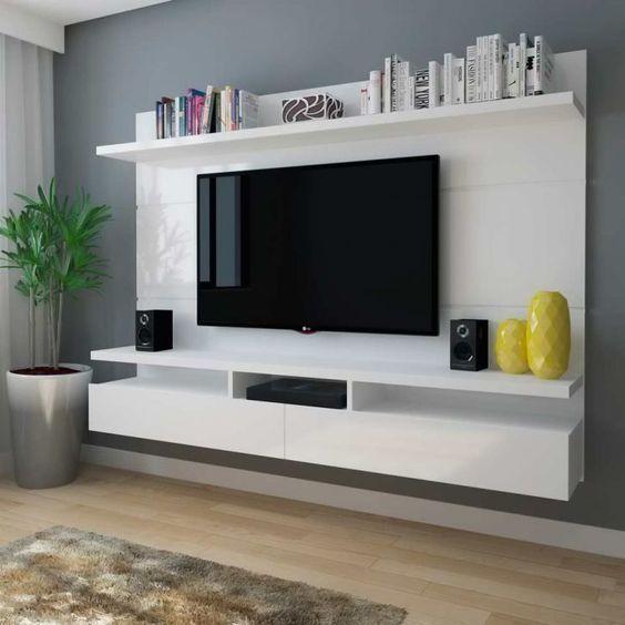 mẫu kệ tivi đẹp bằng gỗ 5