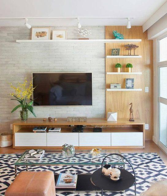 mẫu kệ tivi đẹp bằng gỗ 8
