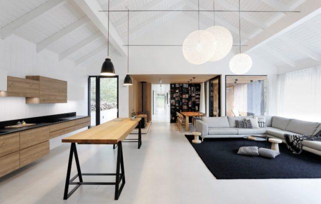 nhà gỗ đẹp hiện đại