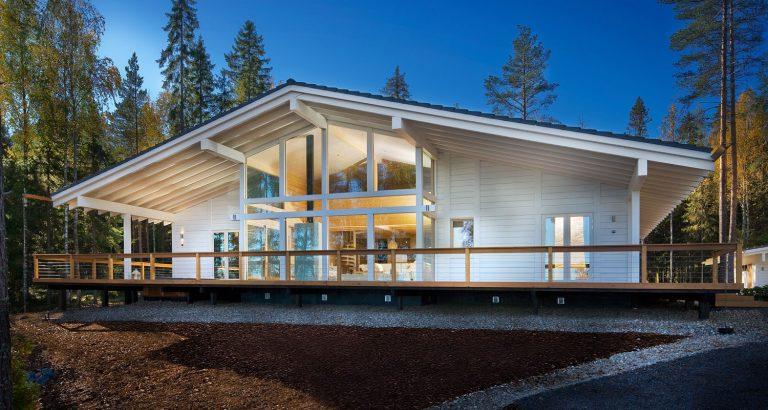 nhà gỗ đẹp hiện đại 2