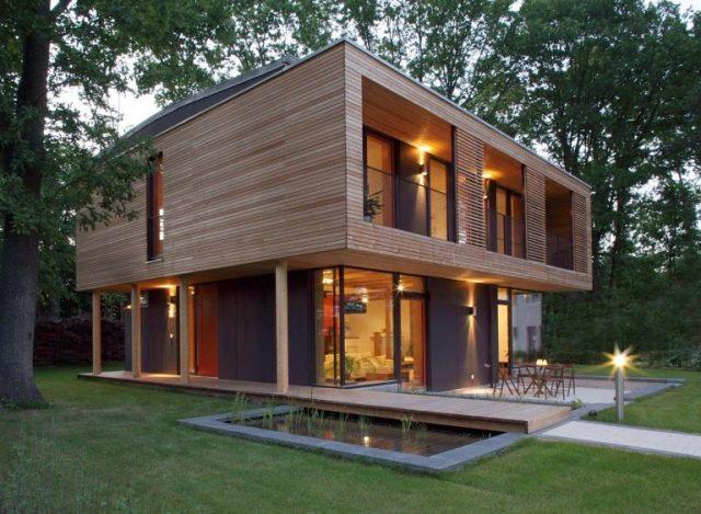 nhà gỗ đẹp hiện đại 4