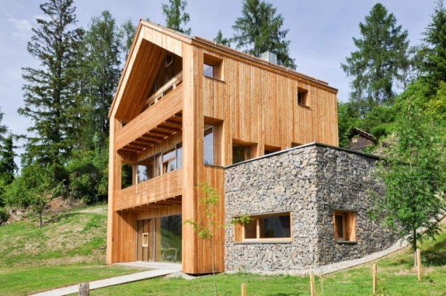 nhà gỗ đẹp hiện đại 5