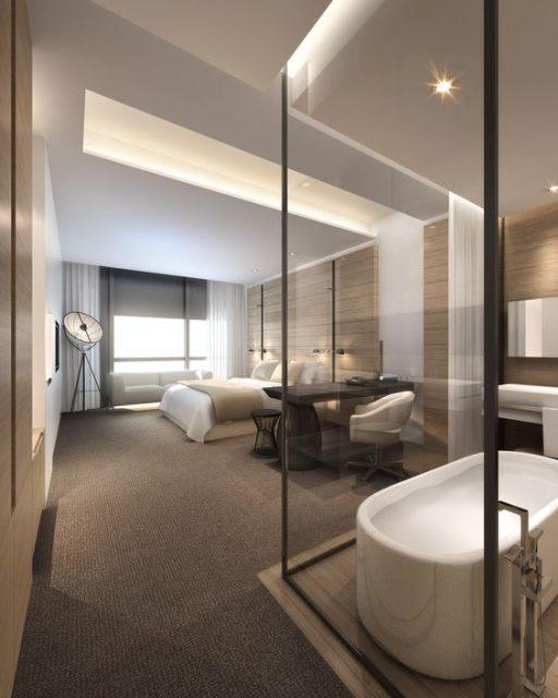 phòng ngủ có nhà vệ sinh đẹp 2