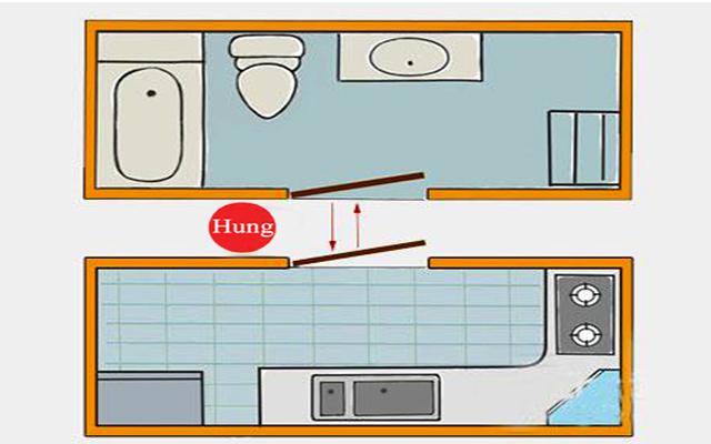 vị trí đặt bếp trong nhà theo phong thủy 3