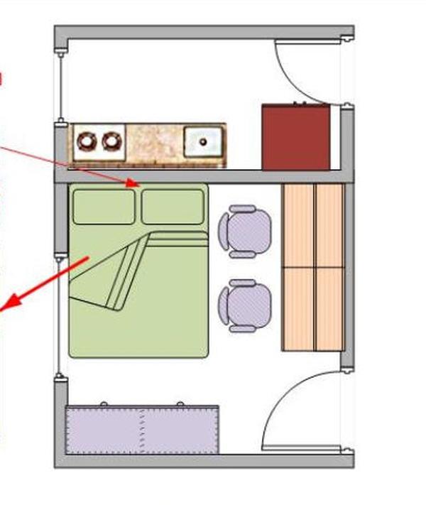 vị trí đặt bếp trong nhà theo phong thủy 4