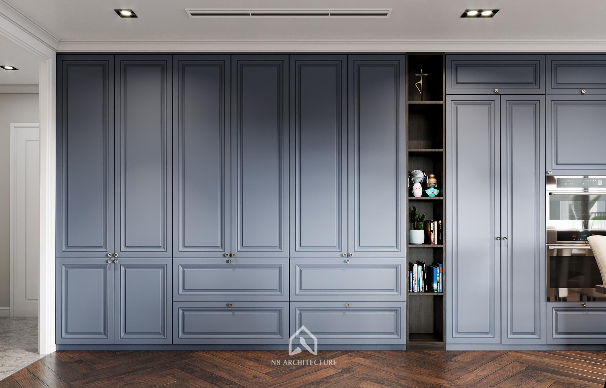 thiết kế nội thất chung cư kosmo 5