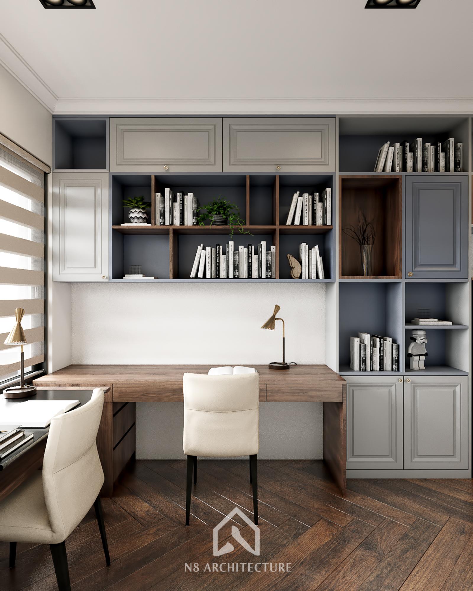 thiết kế nội thất chung cư kosmo 11