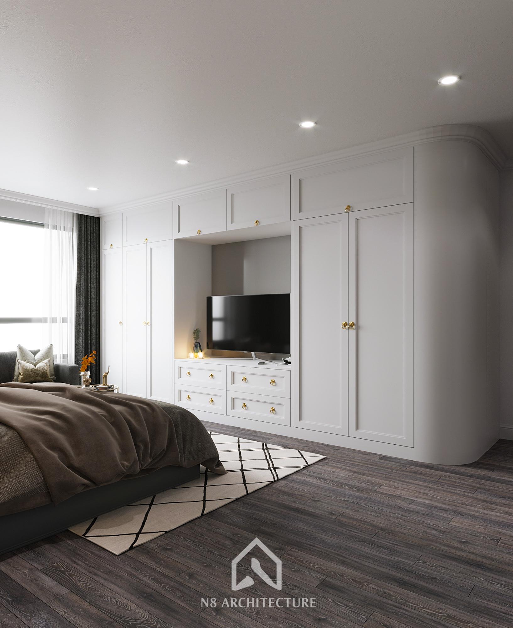 thiết kế nội thất chung cư hong kong tower 11