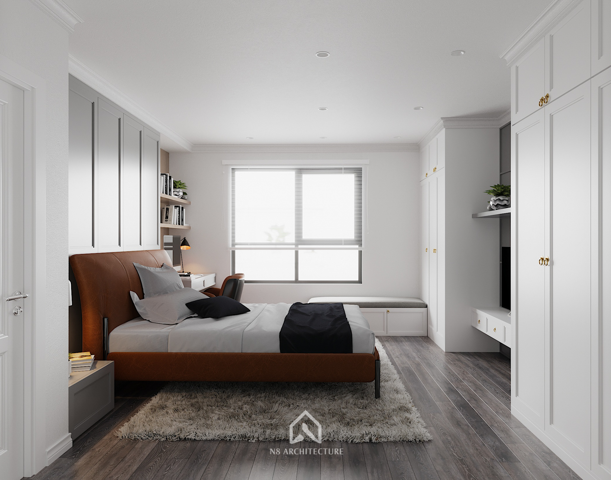 thiết kế nội thất chung cư hong kong tower 15