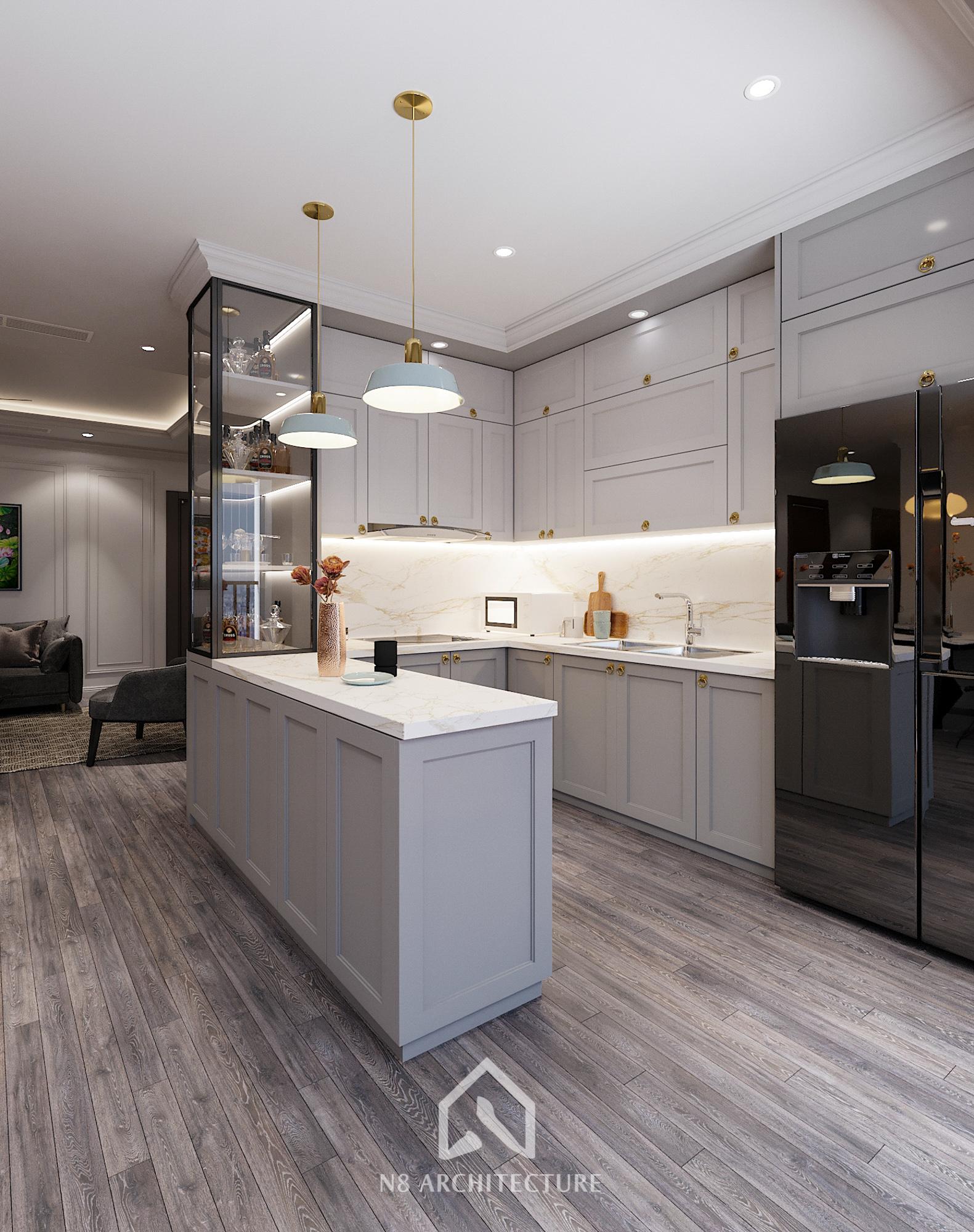 thiết kế nội thất chung cư hong kong tower 6
