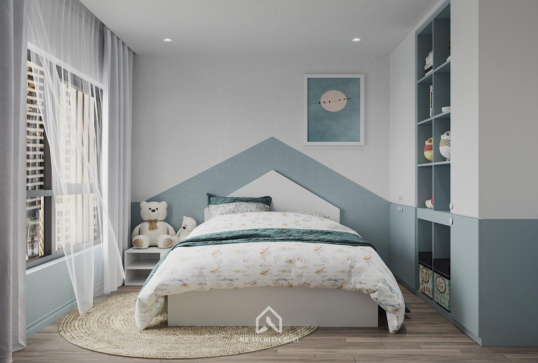 thiết kế nội thất chung cư Seasons Avenua 20