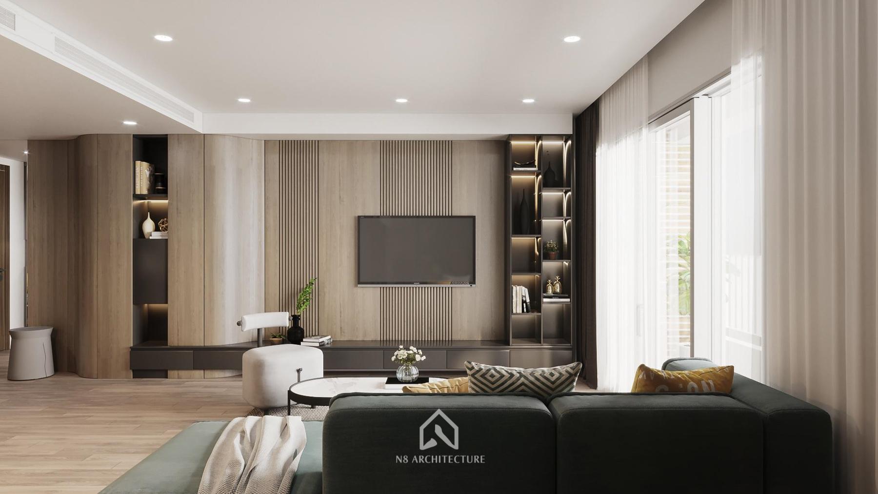 thiết kế nội thất chung cư Seasons Avenua 6