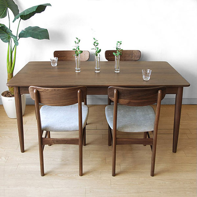 Mẫu bàn ăn chung cư 4 ghế ngồi