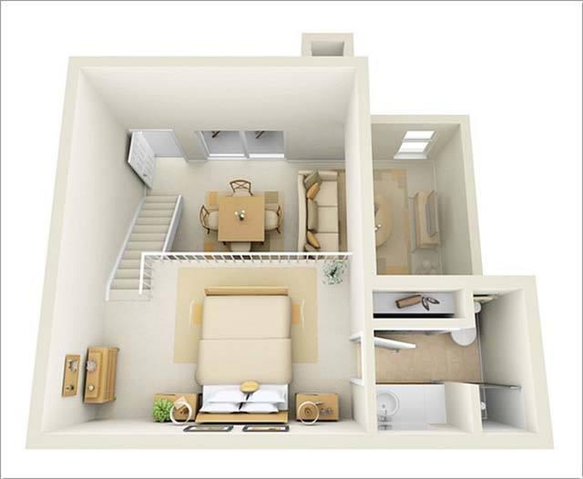 Bí quyết thiết kế nhà nhỏ