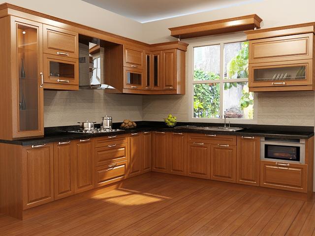 kích thước tủ bếp mẫu 2