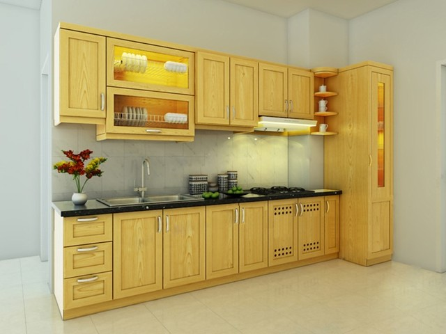 Kích thước tủ bếp mẫu 7