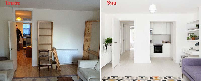 Cải tạo nội thất chung cư mẫu 1