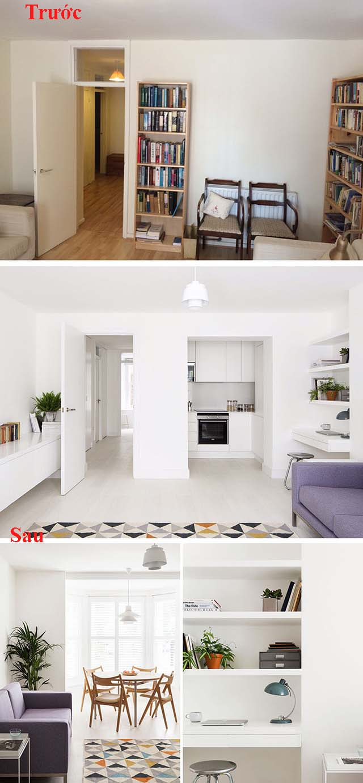 Cải tạo nội thất chung cư mẫu 3