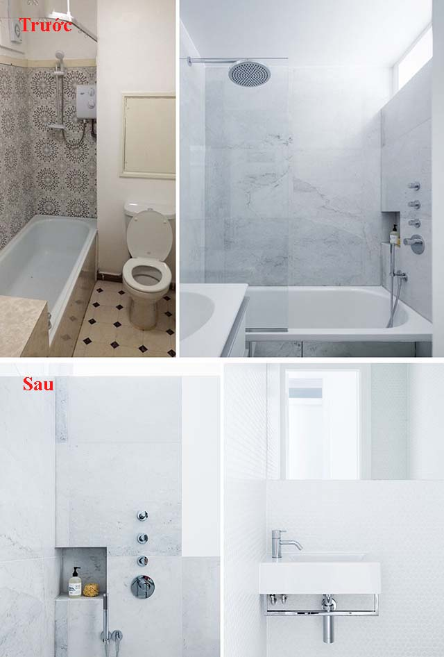 Cải tạo nội thất chung cư mẫu 6