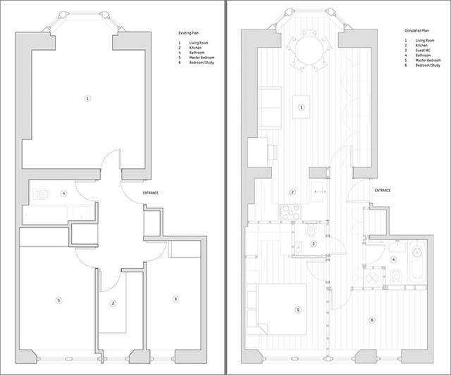 Cải tạo nội thất chung cư mẫu 7