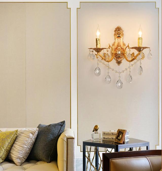 Đèn treo tường phòng khách mẫu 3