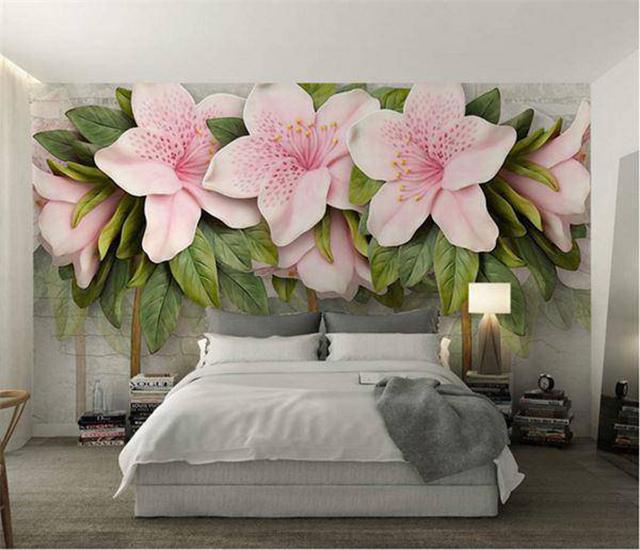 giấy dán tường phòng ngủ 3d 1