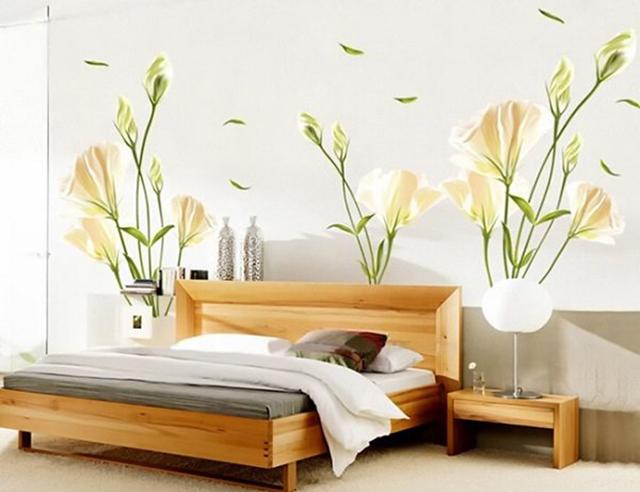 giấy dán tường phòng ngủ 3d 4