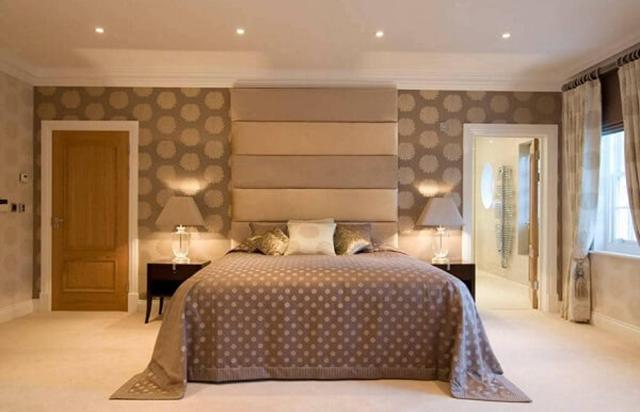 giấy dán tường phòng ngủ phong cách tân cổ điển 3