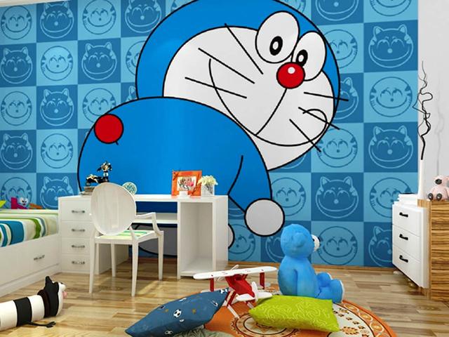 giấy dán tường phòng ngủ trẻ em 2