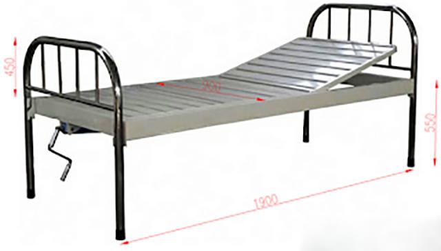 Kích thước giường inox bệnh viện
