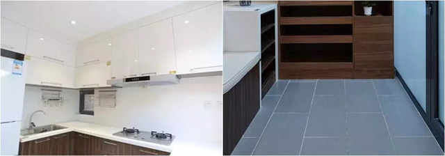 một số mẫu cải tạo nhà cũ tiết kiệm chi phí phòng bếp