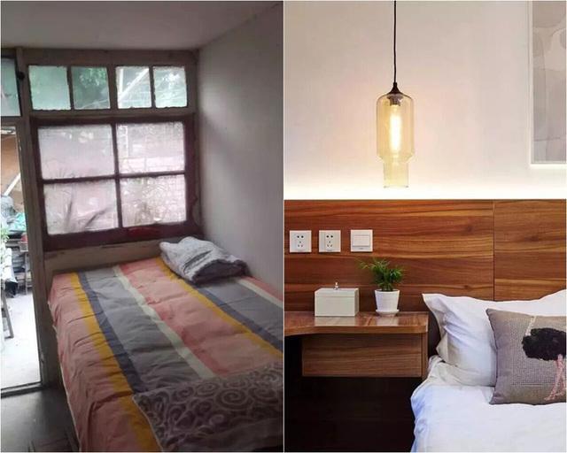 một số mẫu cải tạo nhà cũ tiết kiệm chi phí phòng ngủ