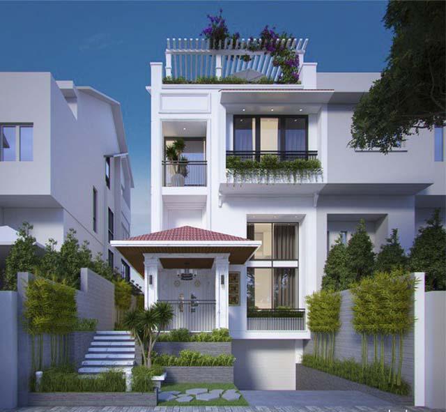 quy trình thiết kế nhà