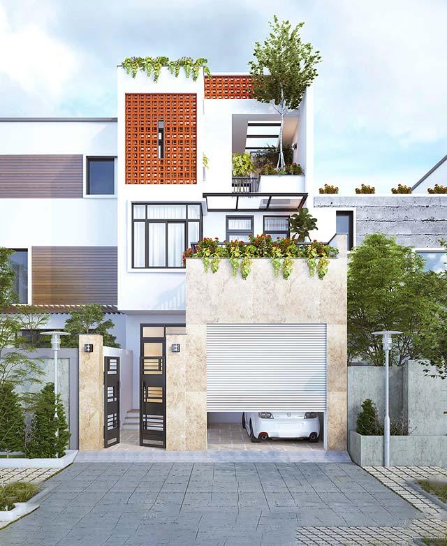 thiết kế nhà ở đơn giản cổ điển 1