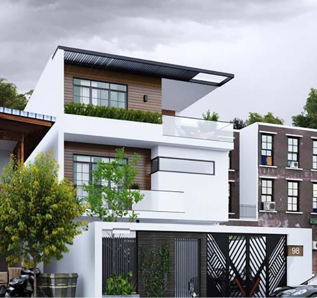 thiết kế nhà không gian xanh 2