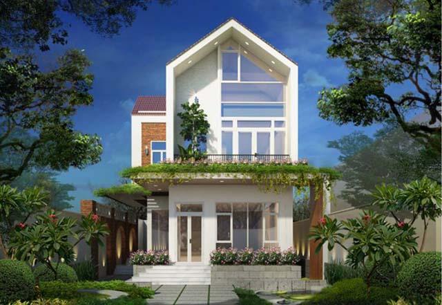 thiết kế nhà không gian xanh 3