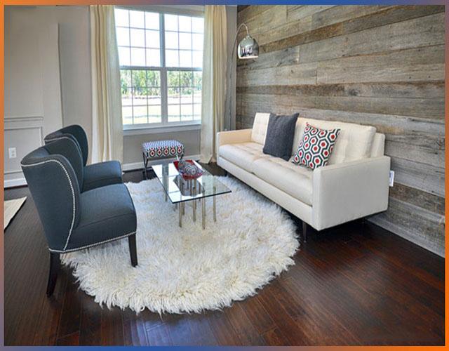 gỗ ốp tường phòng khách 1