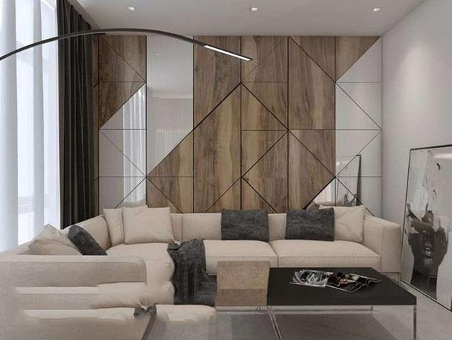 gỗ ốp tường phòng khách 18