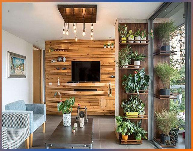 gỗ ốp tường phòng khách 3