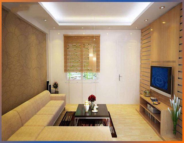 gỗ ốp tường phòng khách 5
