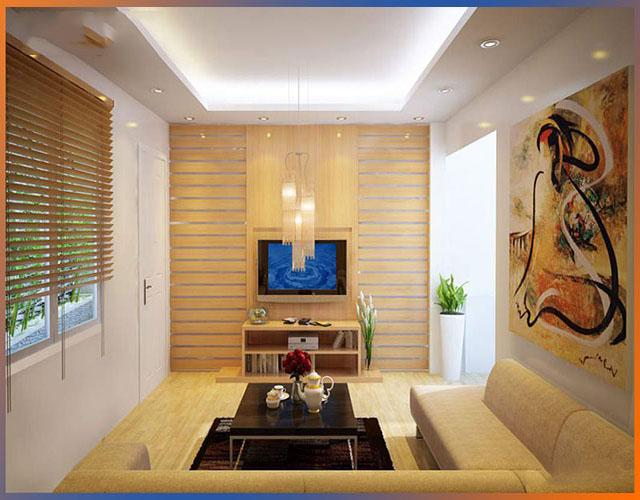 gỗ ốp tường phòng khách 8