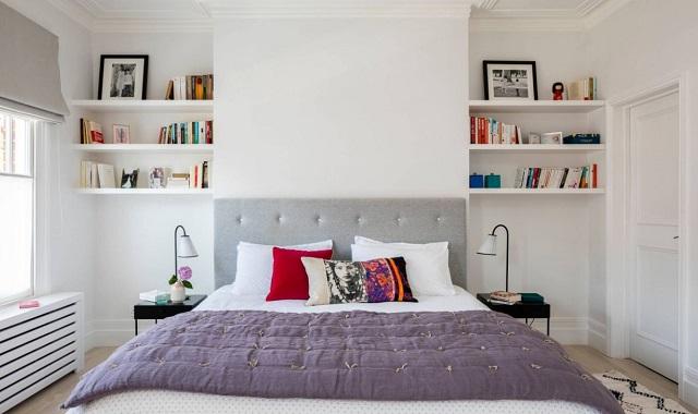 kệ trang trí phòng ngủ 1-1