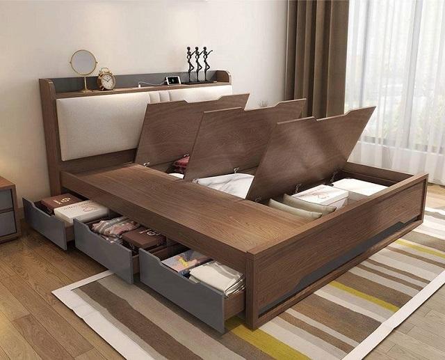kệ trang trí phòng ngủ 5-1