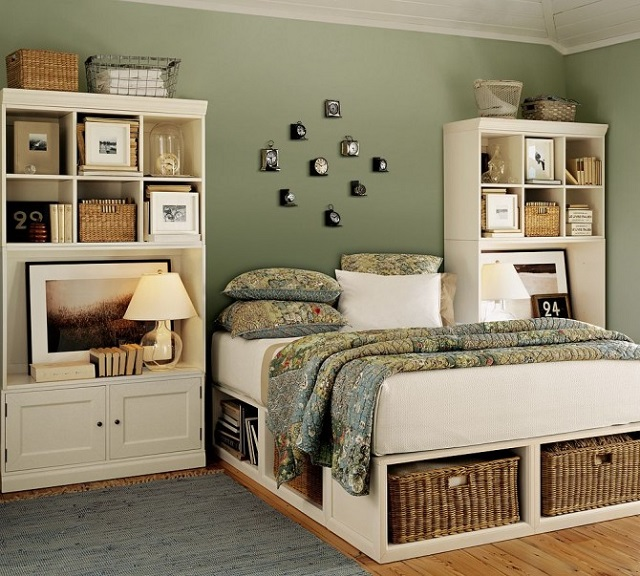 kệ trang trí phòng ngủ 5