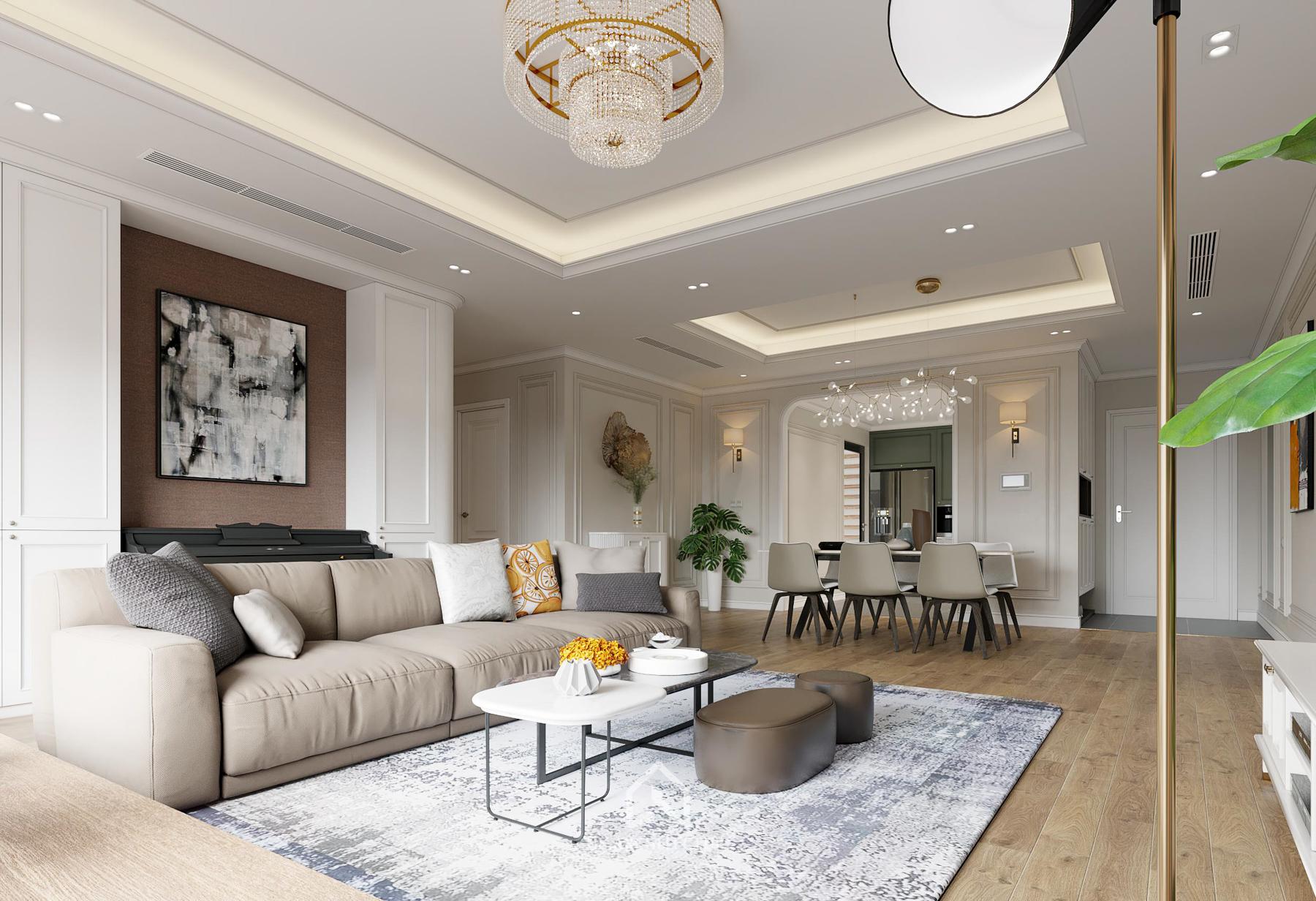 thiết kế nội thất chung cư paragon